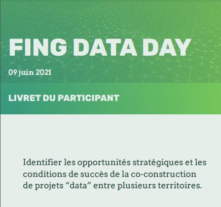 Livret du participant pour le Fing Data Day