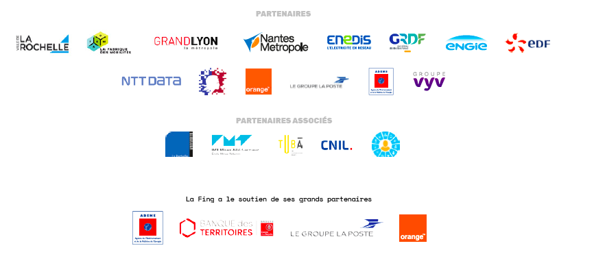 Partenaires du kit Self Data territorial